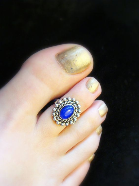 Indian Bridal Toe Rings Wedding Toe Rings Photo