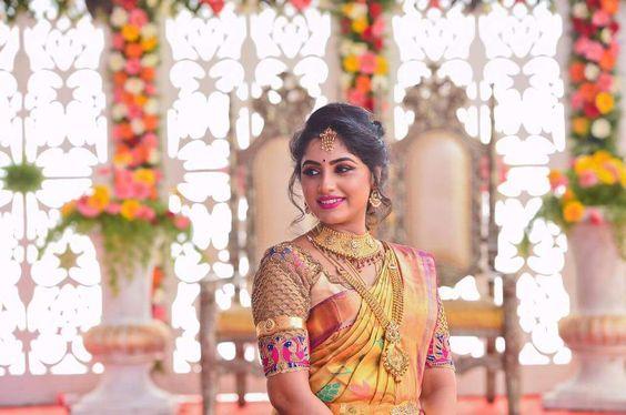 Enchanting Bridal net blouse