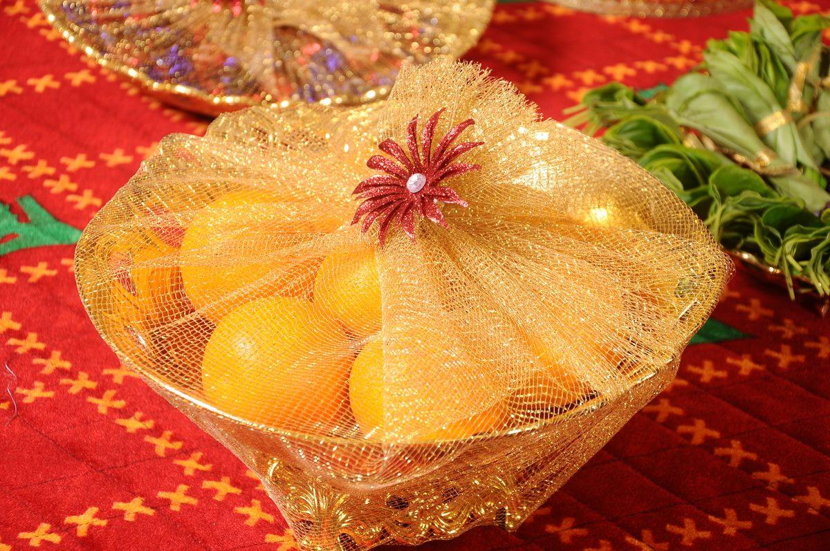 Mehndi Fruit Decoration : Fruit decoration for wedding plate designs