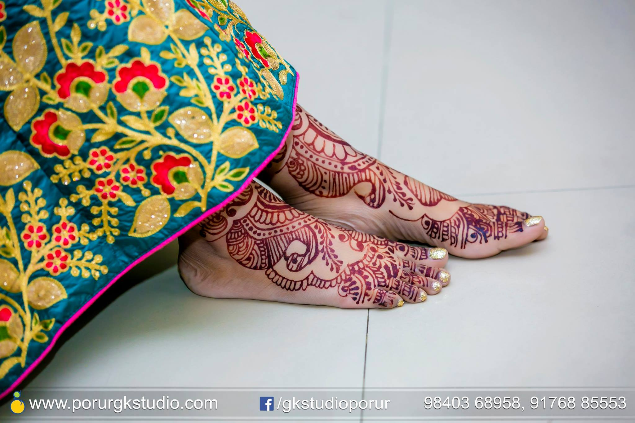 Mehndi Designs For Feet : Mehndi designs for feet bridal photo