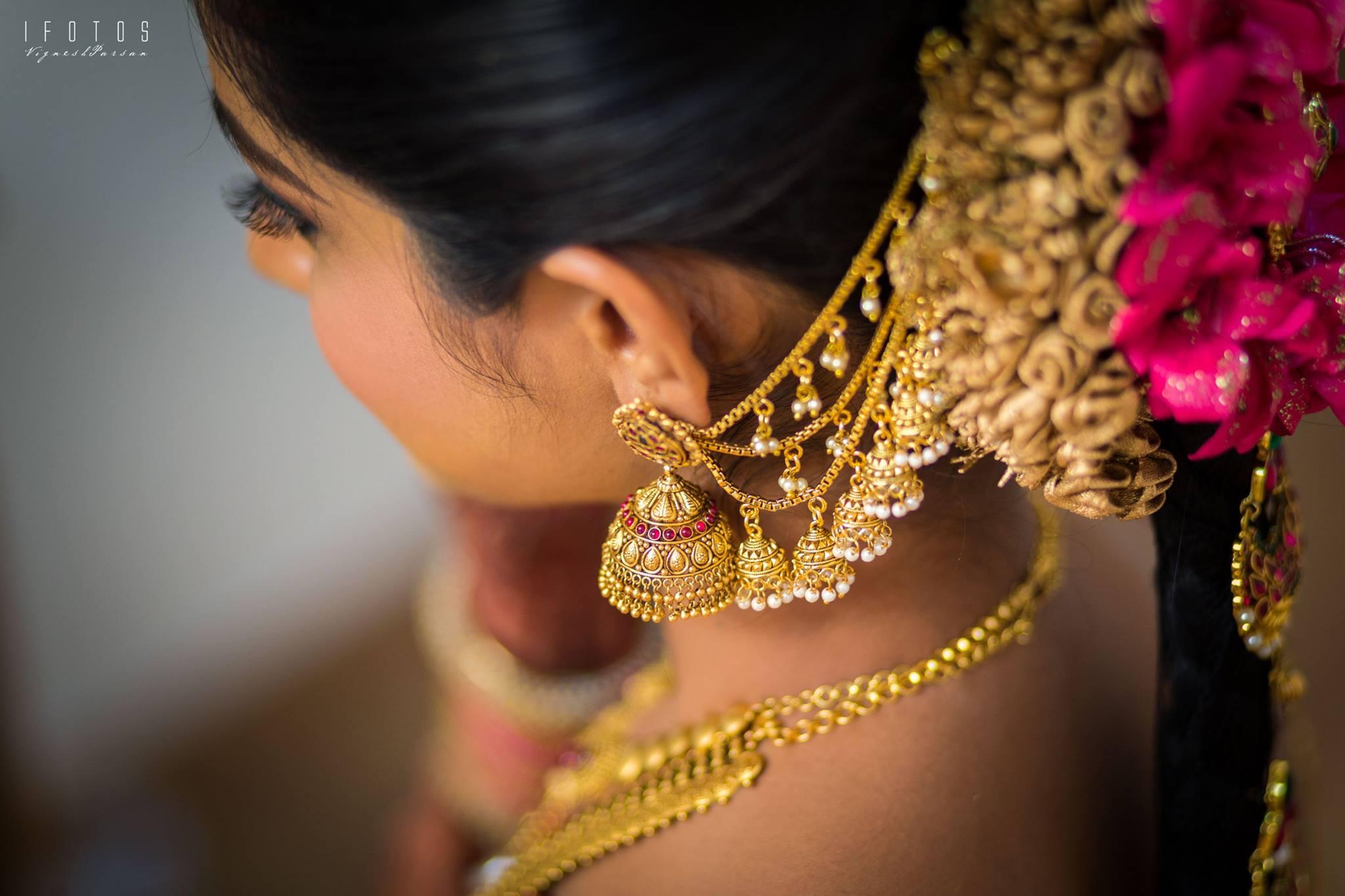 Gold Jimmiki Kammal Photo Gallery Wedandbeyond Com