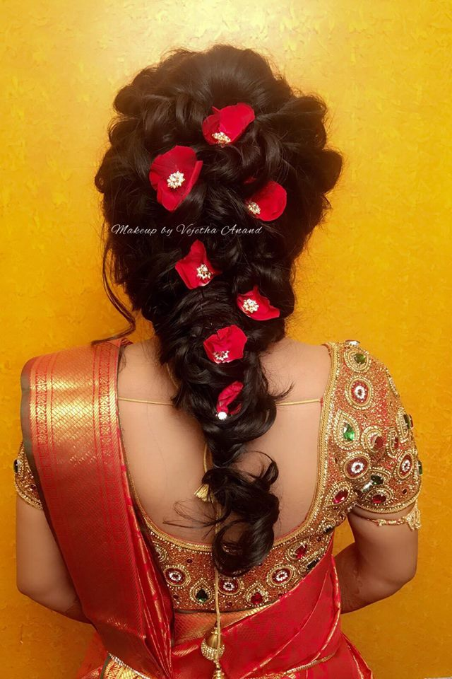 Beautiful Reception Hairstyle