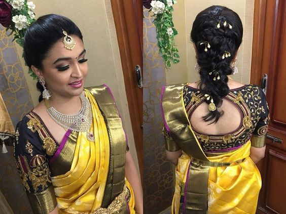 Bridal Hairstyle For Reception Indian Bridal Hairstyle
