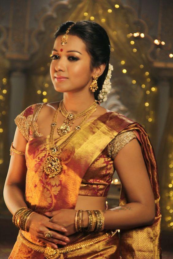 Maroon Golden color Silk Saree