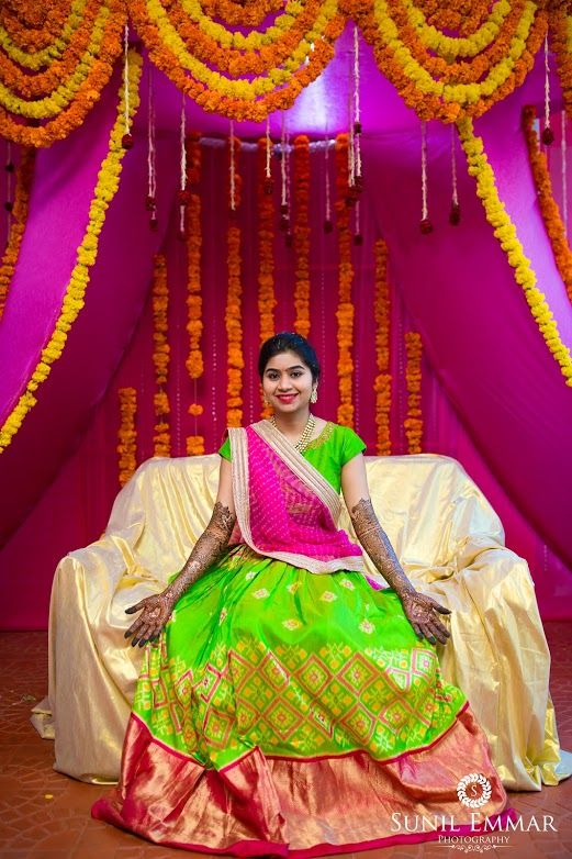 Mehndi Function of a bride