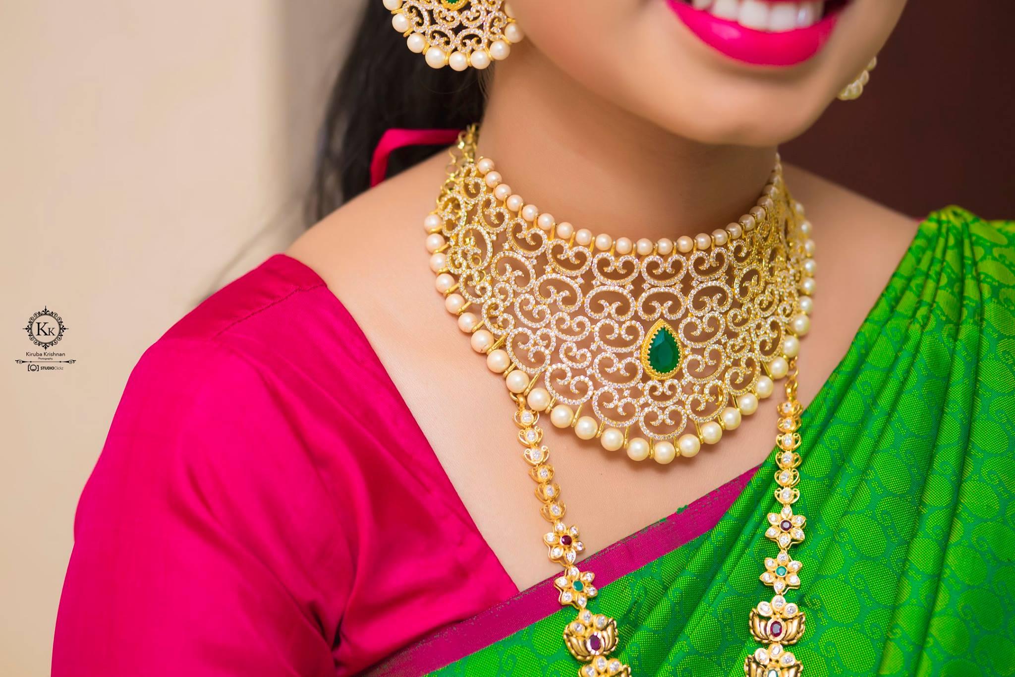 Princess-cut Neck Jewelry