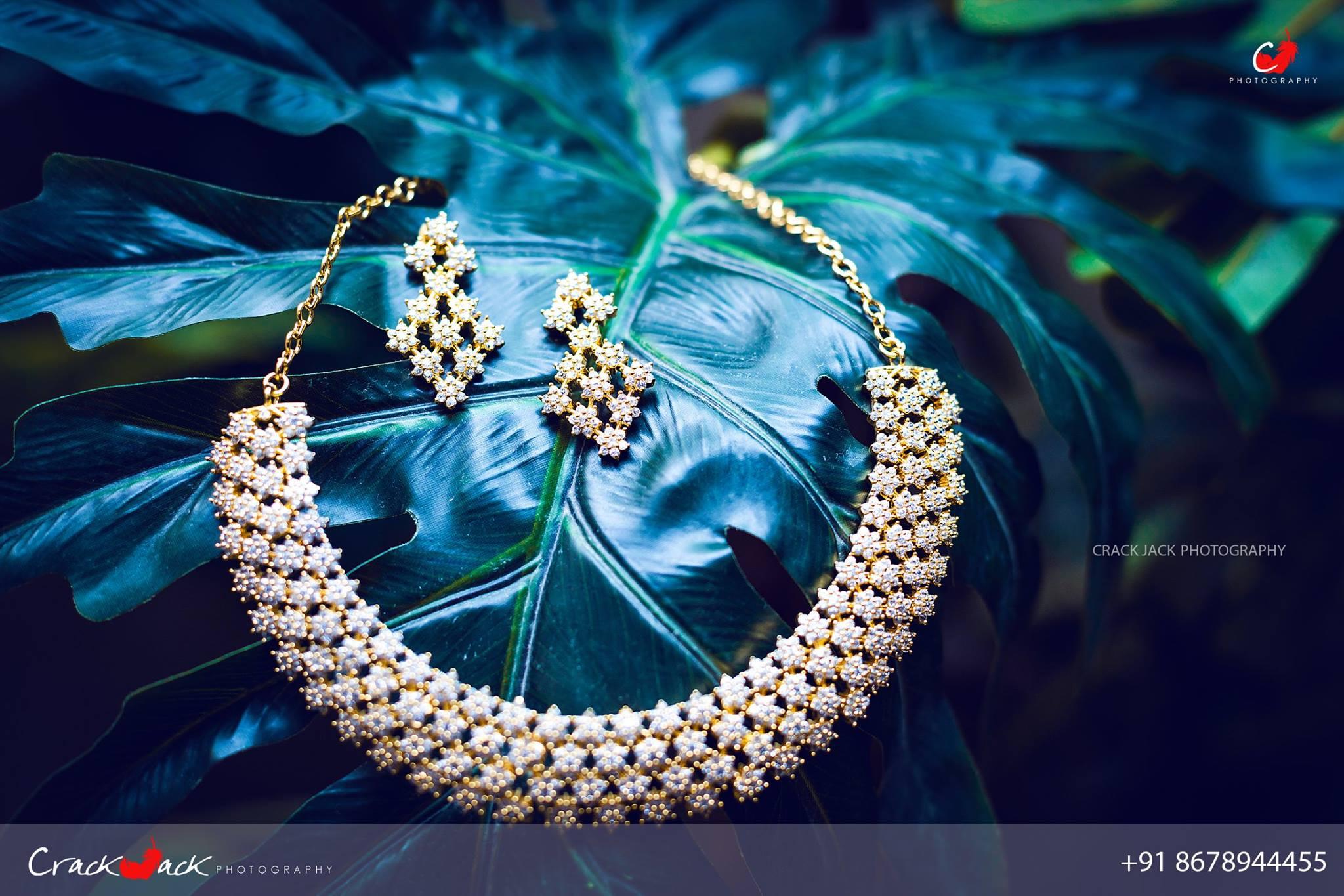 Seven Stone Diamond Neck jewelry