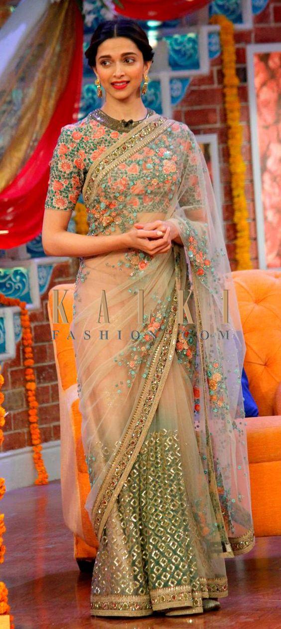 Floral Designer Saree