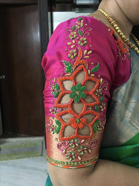 Pattu Saree Blouse Designs Bridal Pattu Saree Blouse