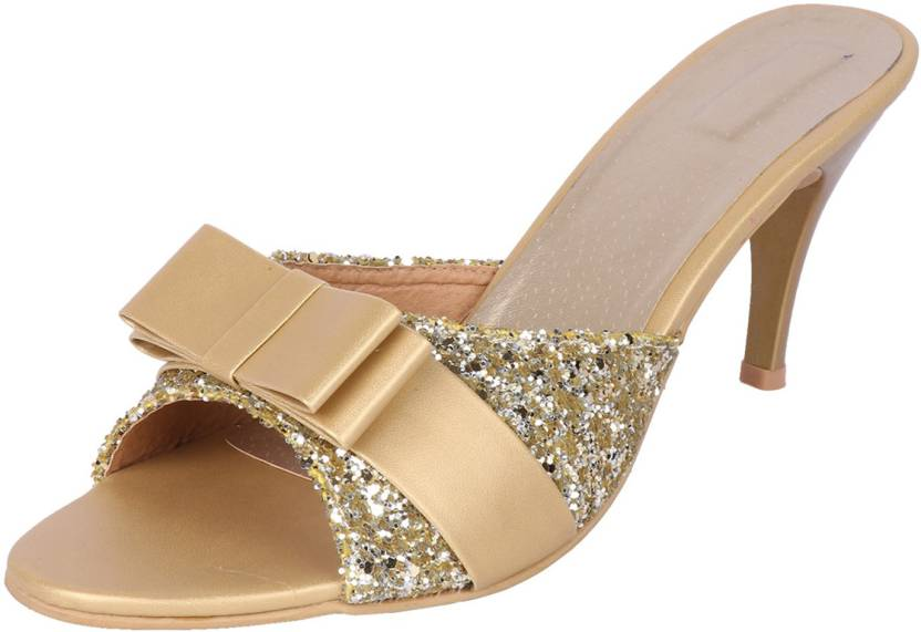 Smart Traders Women GOLD Heels