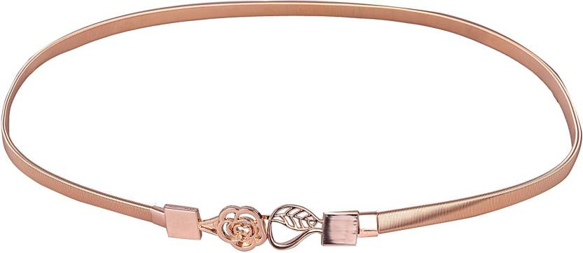 Stylehoops Women Party Gold Metal Belt