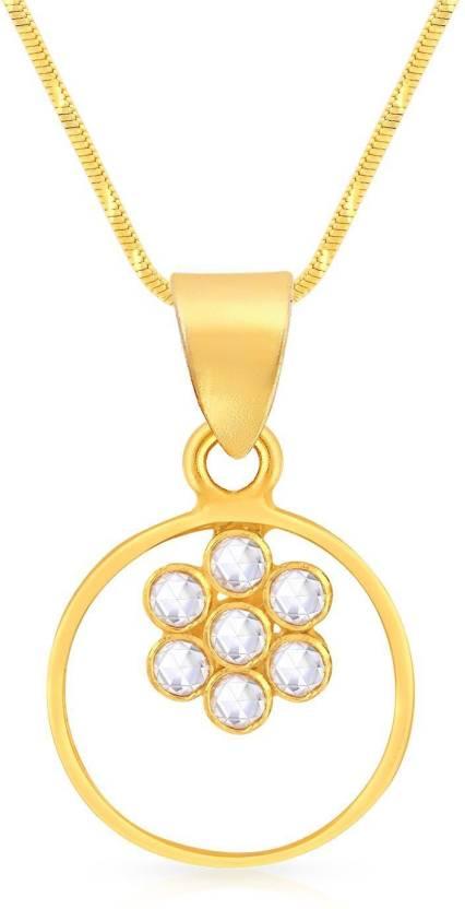 Malabar Gold and Diamonds Yellow Gold Pendant