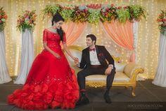 Ganesh Venkatraman Wedding Reception Photos