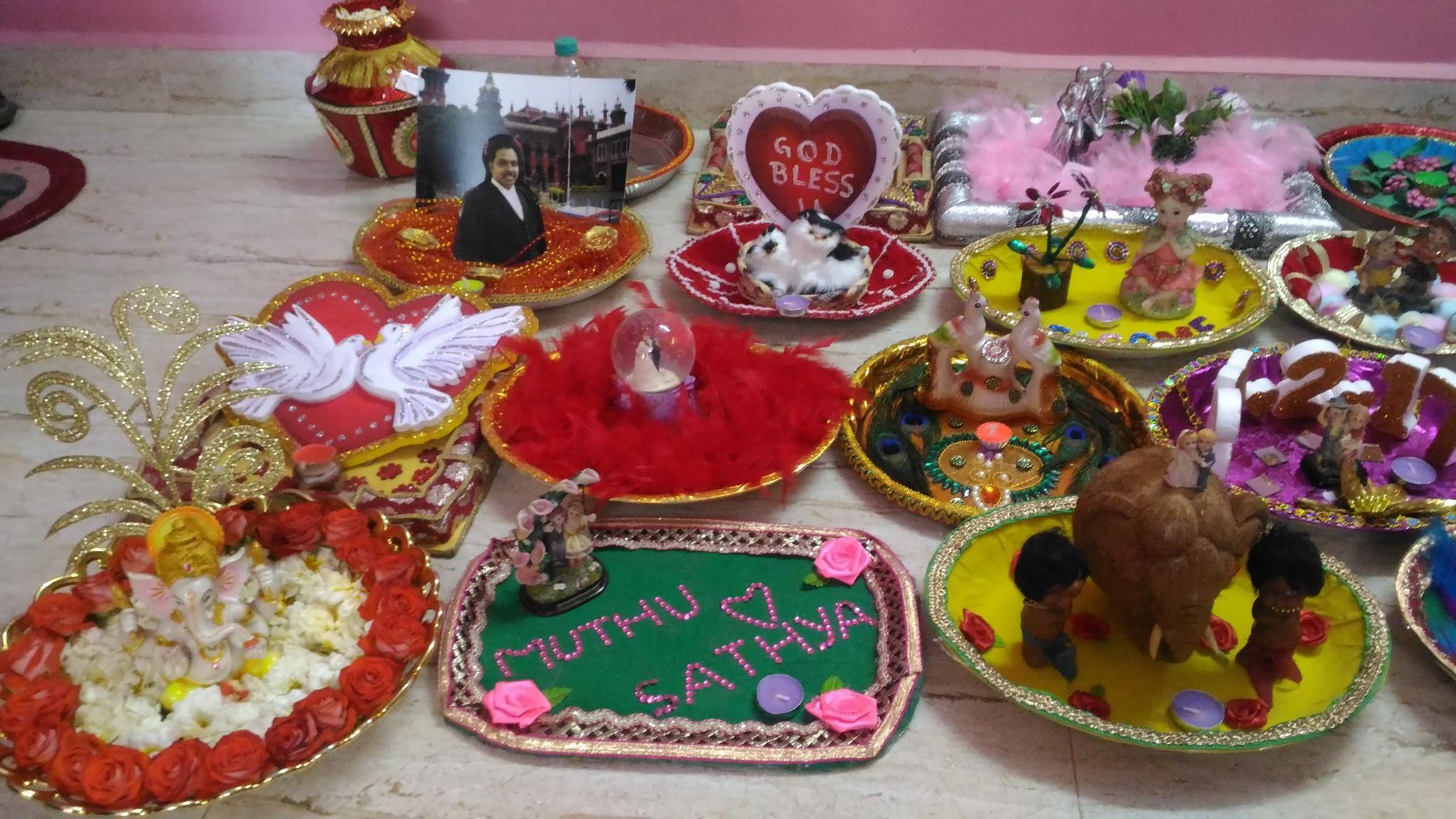 Wedding Return Gift Shops In Chennai: Chandra's Wedding, Aarthi Plates & Return Gifts