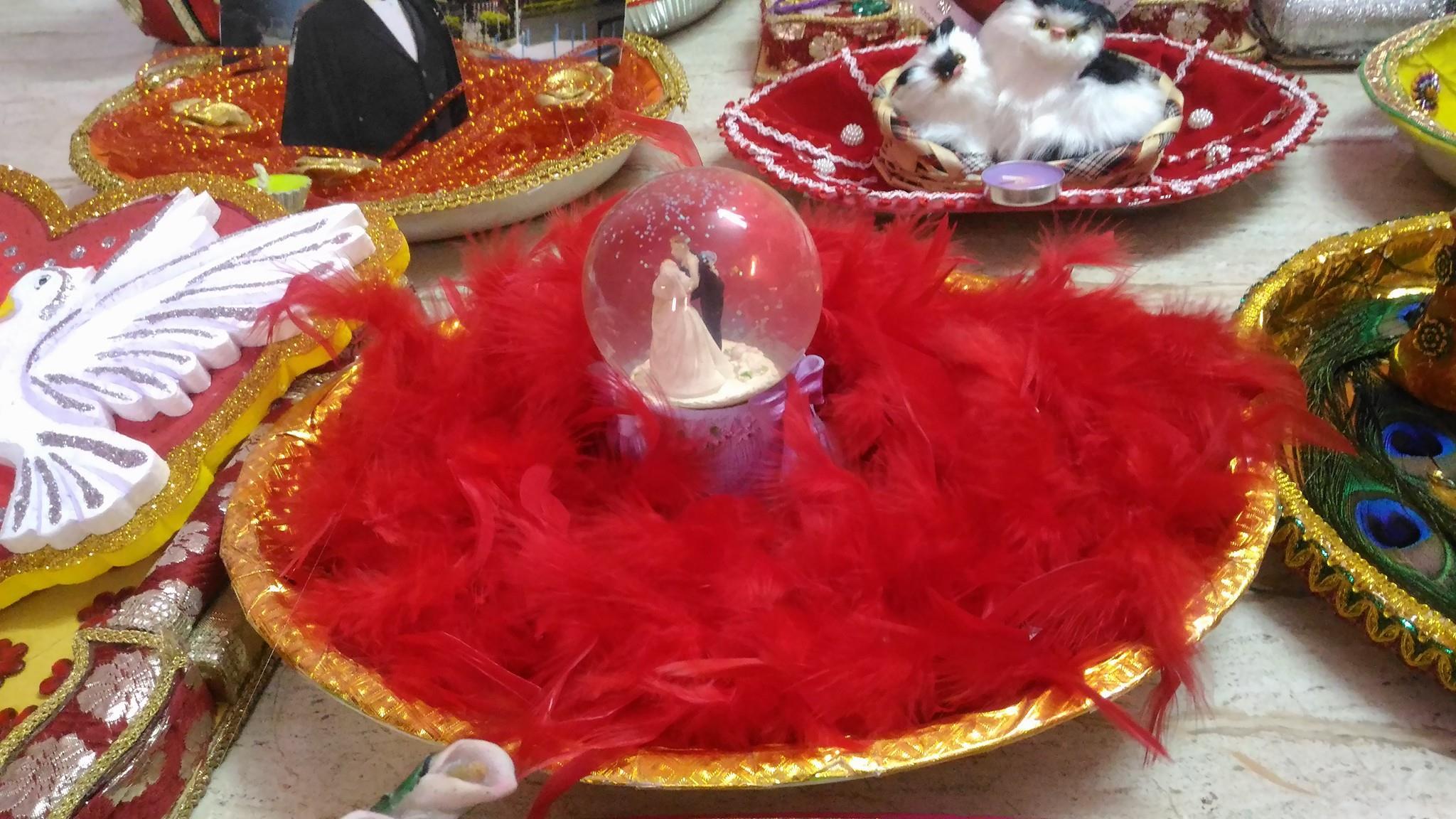 Chandras Wedding Aarthi Plates Return Gifts Wedding Plate