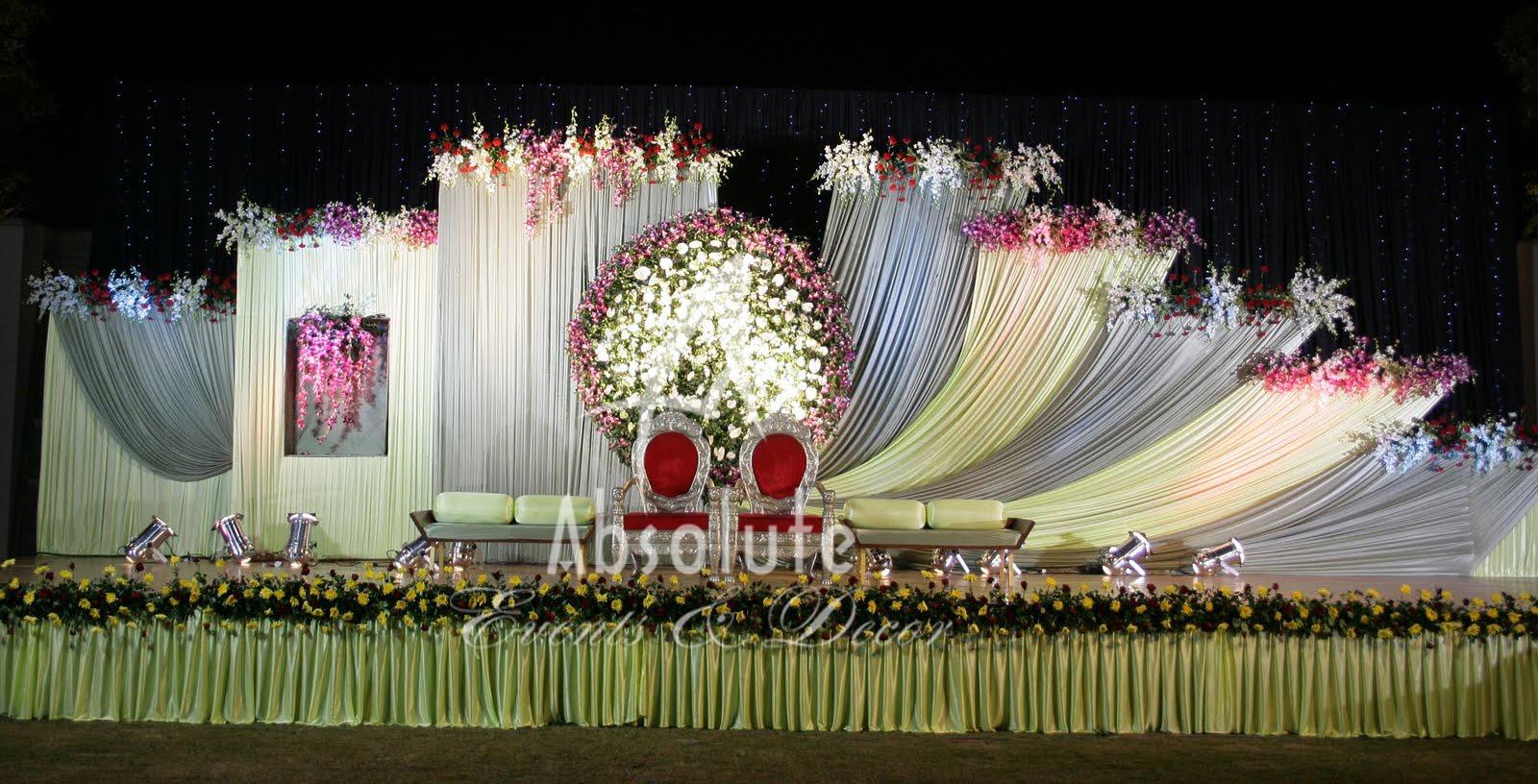 Absolute decors wedding decorators in chennai vendors reception stage img15 wedding junglespirit Choice Image