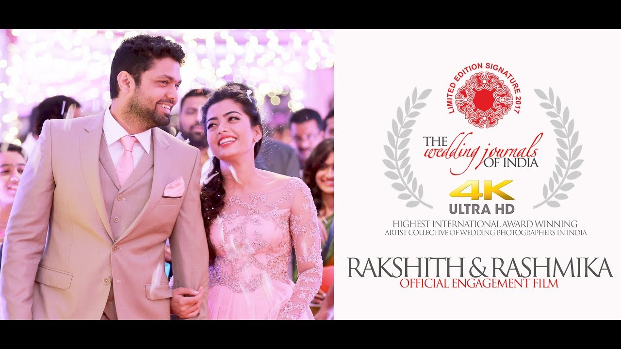 THE ONLY OFFICIAL ENGAGEMENT FILM | RAKSHIT SHETTY & RASHMIKA MANDANNA ENGAGEMENT