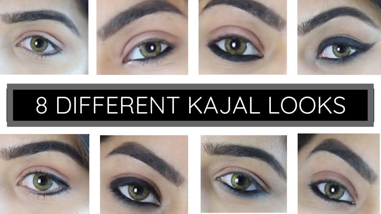 8 DIFFERENT KAJAL LOOKS