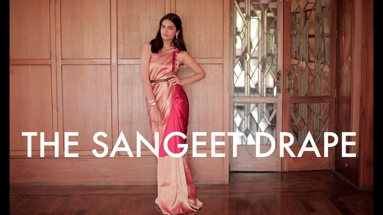 The Sangeet Drape