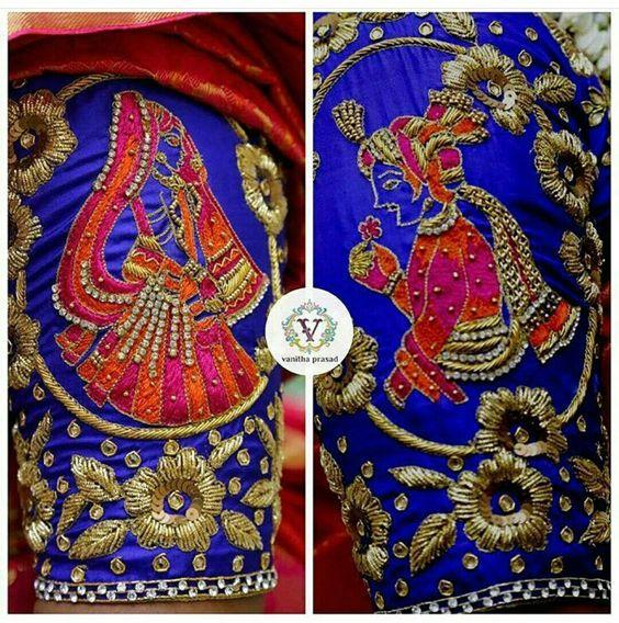 Aari Work Blouse Design Photo Gallery Wedandbeyond Com