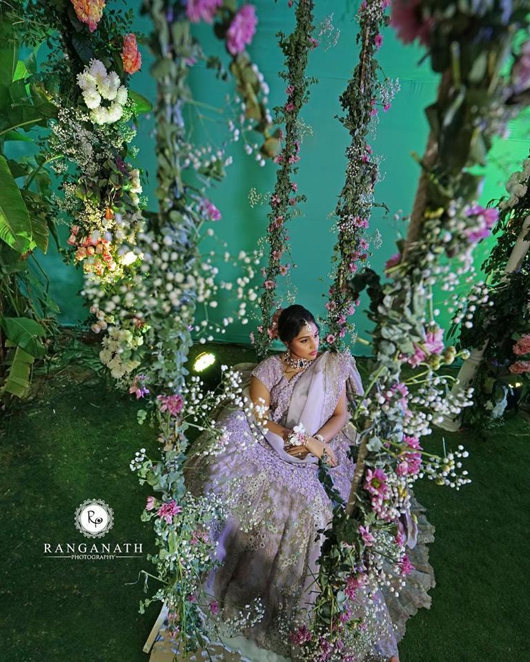Beautiful Colorful Bride