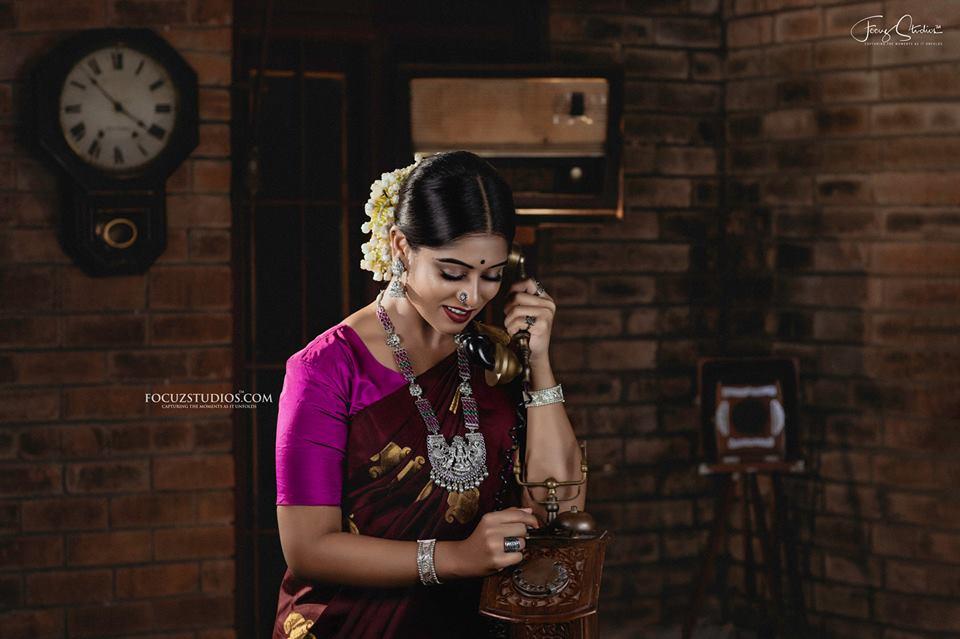 Exoctic Bridal Silver lakshmi haram