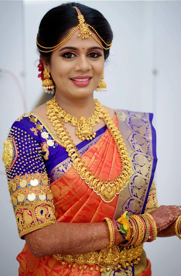 Pretty Bridal Temple Jewelry
