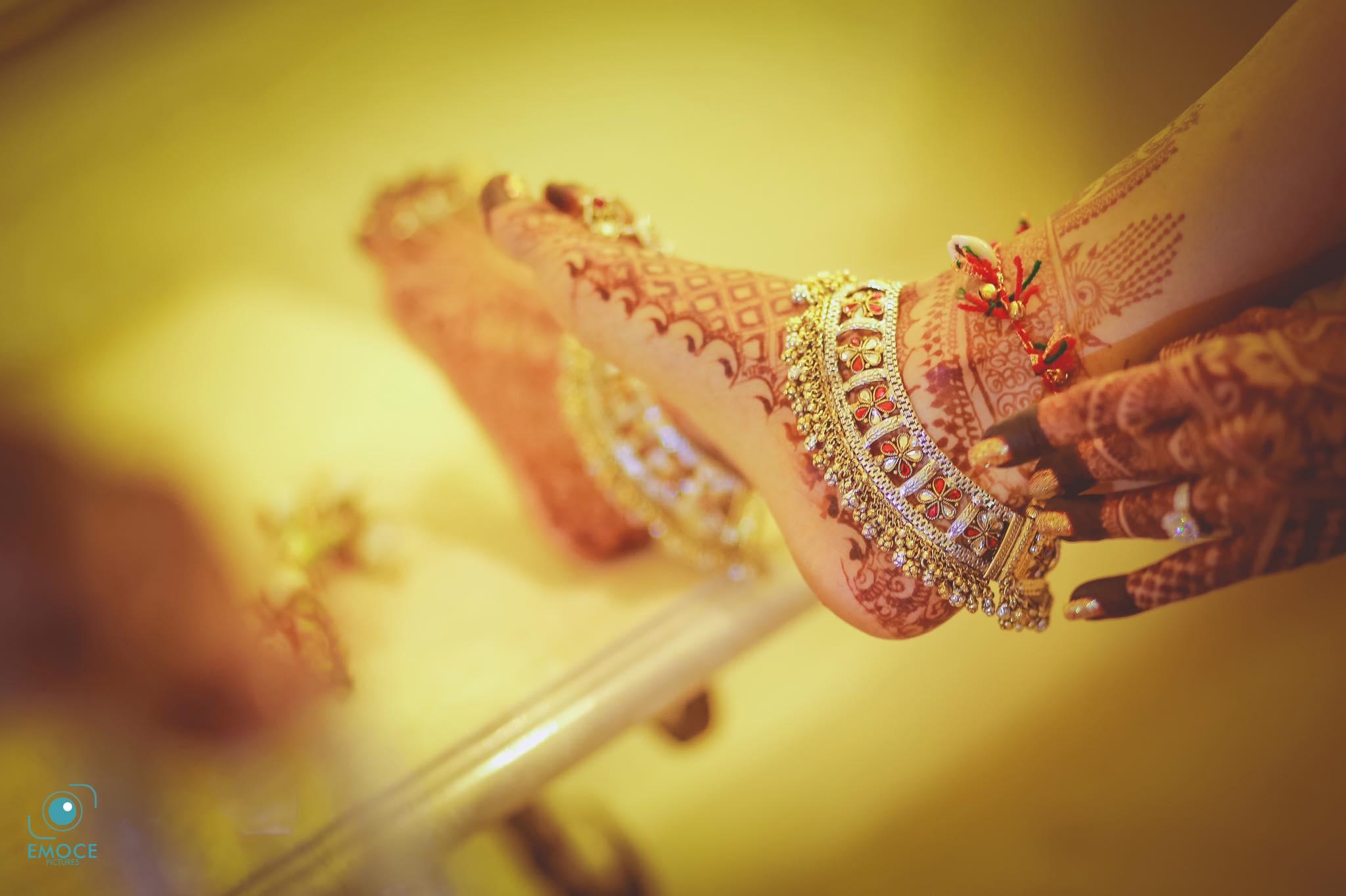 Fashionable bridal Anklet