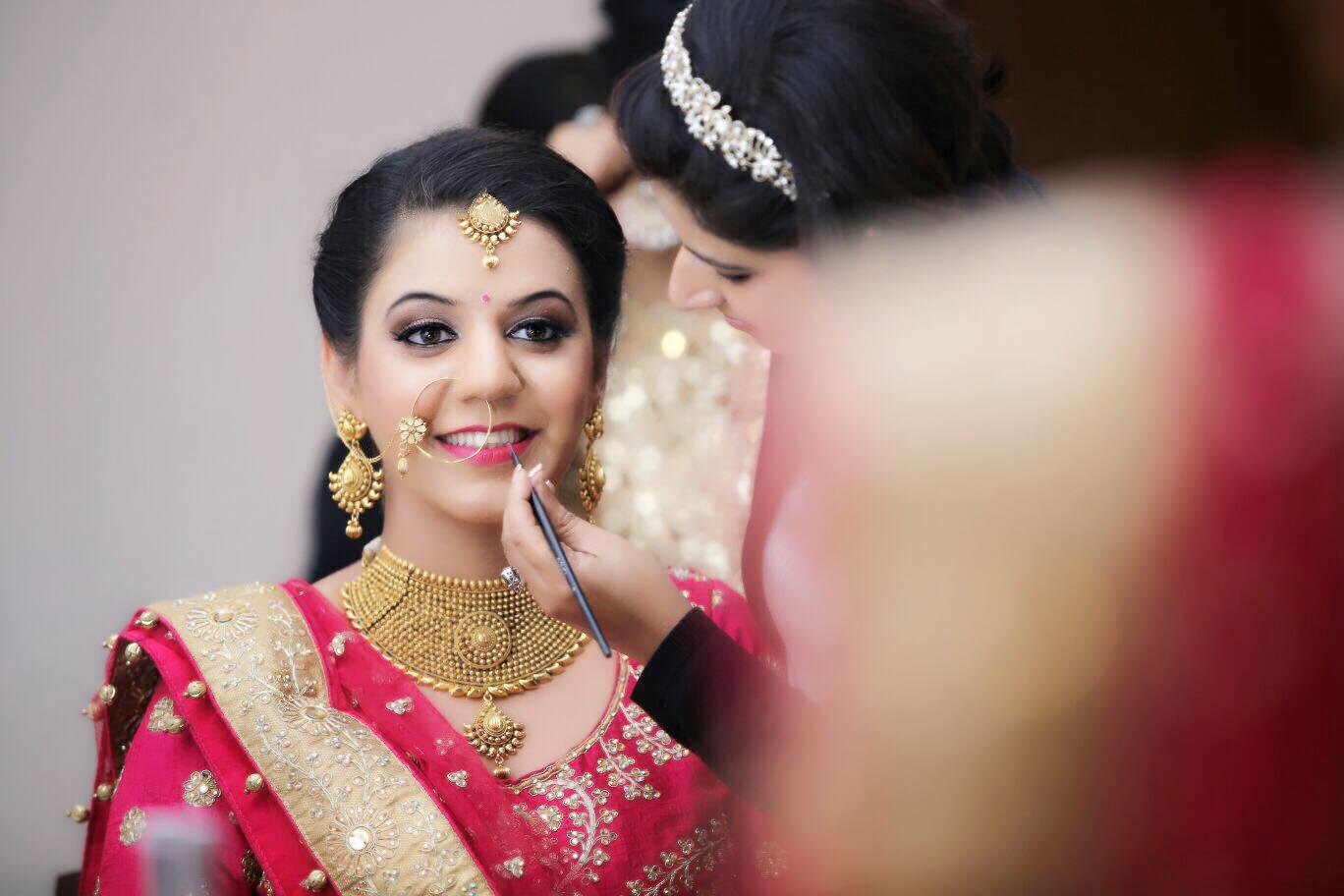 cute bridal makeup | photo gallery - wedandbeyond