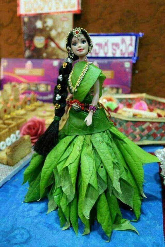Betel Leaf Barbie decoration