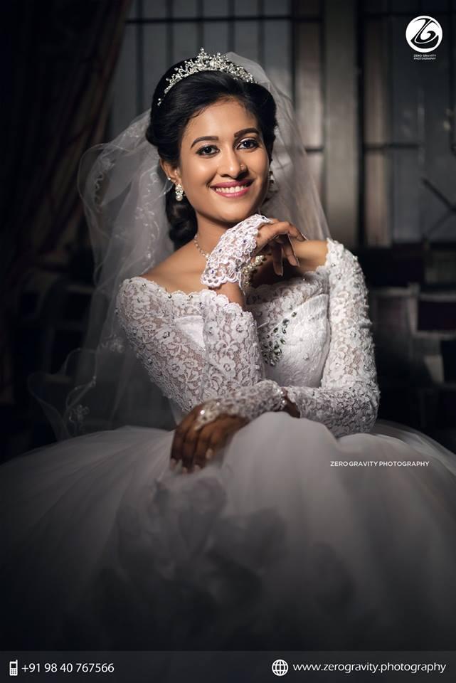 Cute splendid bride