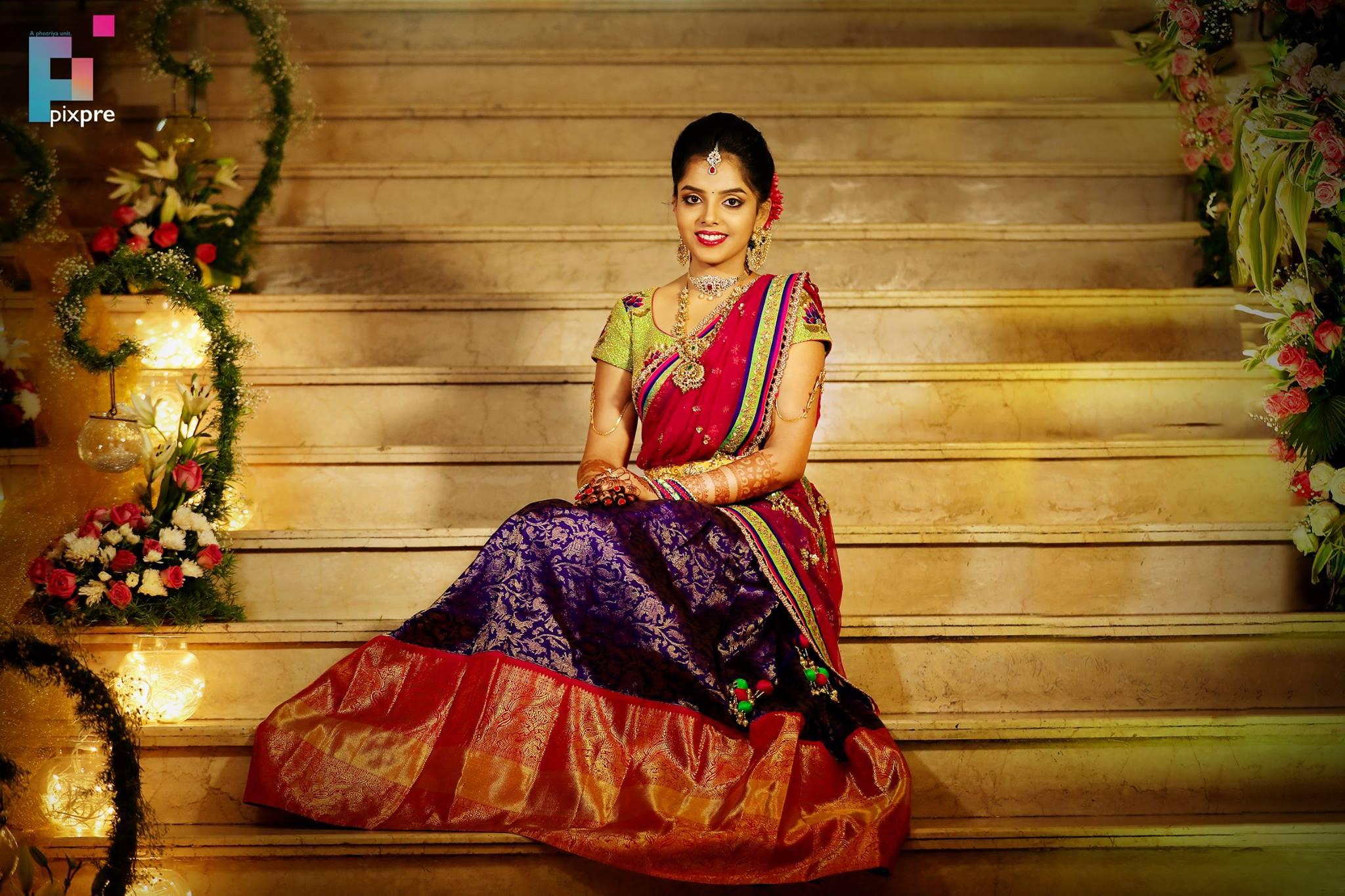 Silk Half saree