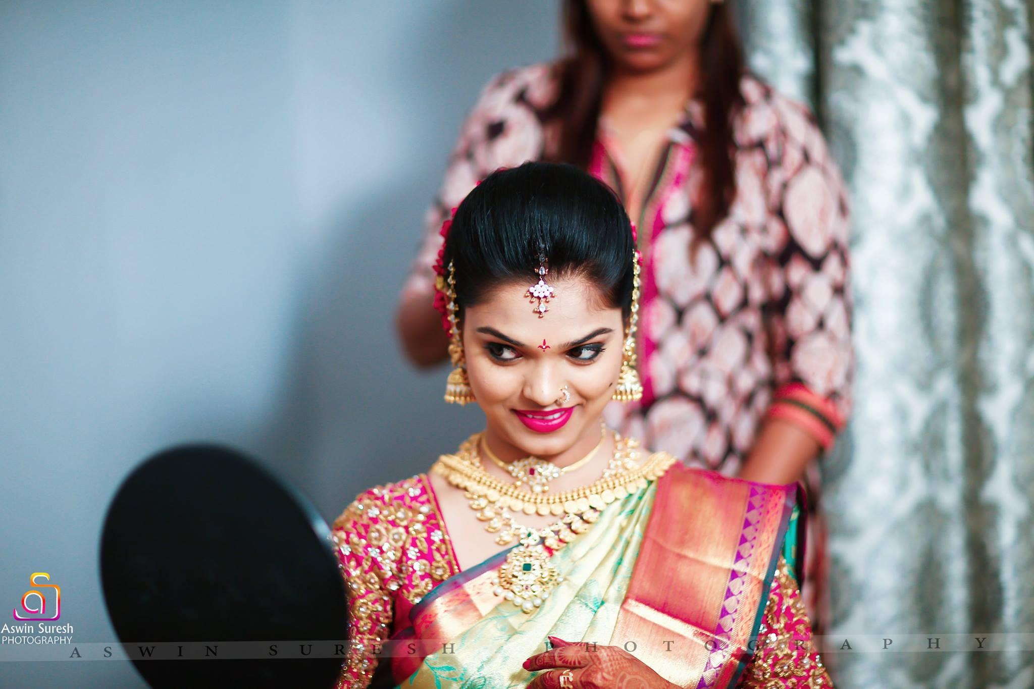 awesome south indian bridal makeup | photo gallery - wedandbeyond