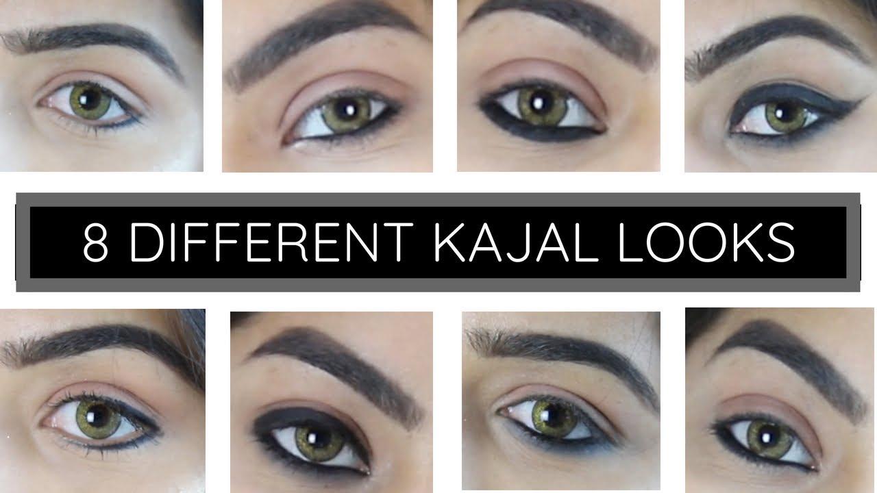 8 DIFFERENT KAJAL LOOKS